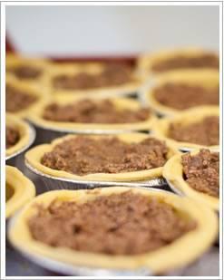 Open top pies